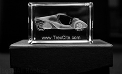 TrexCite Crystal Memorabilia (Medium Sized)